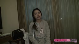 SPURTS OF JIZZ SHOOT INTO THAI GIRL BY JAPAN GUY