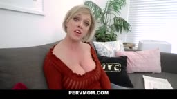 THICK ASS STEPMOM GETS TITTY FUCKED BY STEPSON