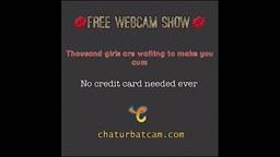 sexy girl masturbate on webcam