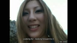 【露出】海ギャルフェラ中出し Japanese Gyaru Sucking And Fucking At A Beach For The First Time